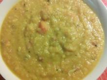 Kürbissuppe indisch vom Spaghettikürbis - Rezept
