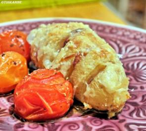 Überbackene Zwiebel-Kartoffeln - Rezept