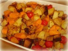Ofengemüse mit vielen Gewürzen - Rezept