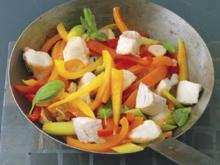 Rotbarschfilet mit Paprika – Aprikosen Sauce - Rezept - Bild Nr. 2