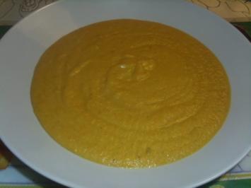 Möhren-Linsen-Suppe - Rezept