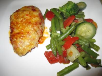 Überbackene Kalbsschnitzel - Rezept