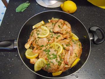 Rezept: Zitronen-Salbei Hähnchen