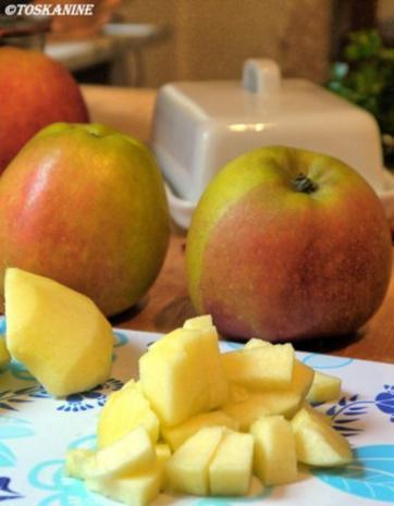 Weihnachtliches Apfel-Dessert - Rezept - Bild Nr. 4