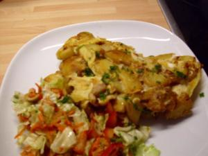 Kartoffel Omelette - Rezept