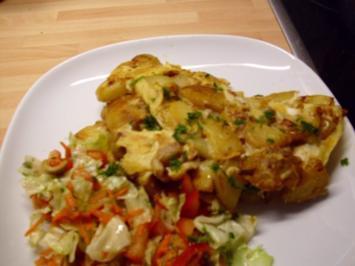 Rezept: Kartoffel Omelette