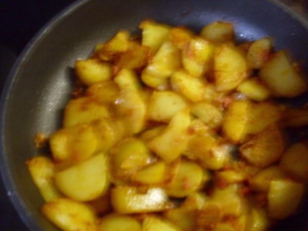 Kartoffel Omelette - Rezept - Bild Nr. 2