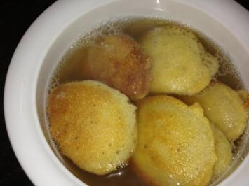 Schübli für die Suppe - Rezept