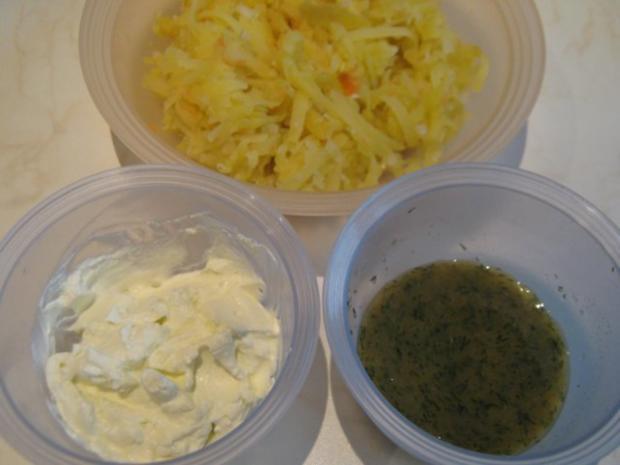 Räucherlachs auf Röstitaler (in zwei Varianten) - Rezept - Bild Nr. 2
