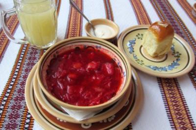 Borschtschi Kiewskiy - Rezept