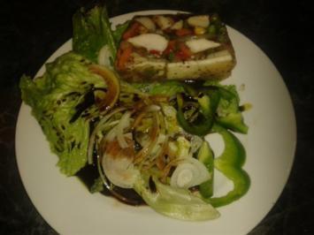 Fischsulz mit Gemüse und Pilzen - Rezept