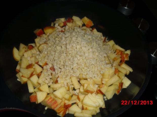 winterliche Muffin mit Bratapfelstücken - Rezept - Bild Nr. 7