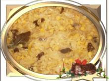 ☆…alle Jahre wieder…☆… Sauerkraut mit Steinpilzen und Erbsen - an Heiligabend - Rezept