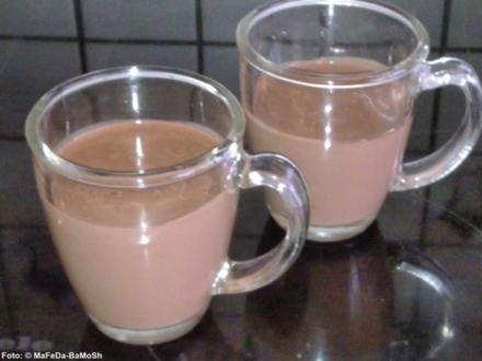 Heiße Schokolade (selbst gemacht) - Rezept