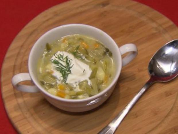 Saure-Gurken-Suppe - Rezept
