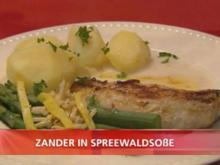 Zander in Spreewaldsoße - Rezept