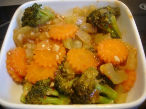 Wok-Gemüse - Rezept - Bild Nr. 10