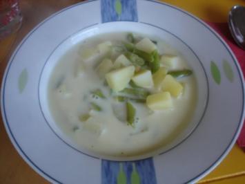 Buschbohnen-Kartoffelsuppe - Rezept