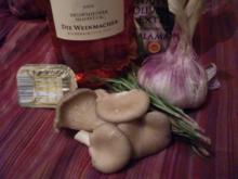 Austernpilze mit Rosmarin - Rezept