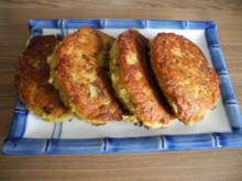 Vegan : Zucchini - Bratlinge - Rezept