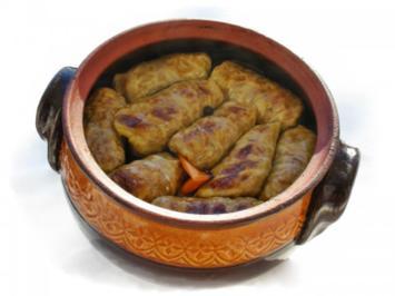 Selevi Sarmi- gefüllte Sauerkrautblätter mit Hackfleisch - Rezept