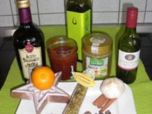 Marinade für Geflügel, Fleisch, Fisch oder Gemüse - Rezept