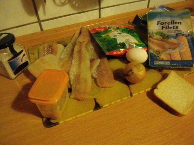 Fischfrikadellen mit Kartoffelsalat und Remouladensoße-unser Essen am Heiligen Abend - Rezept - Bild Nr. 3