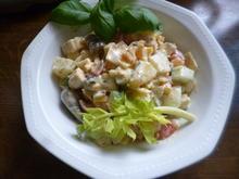 Curry-Kartoffelsalat mit Joghurt-Dressing - Rezept - Bild Nr. 2341