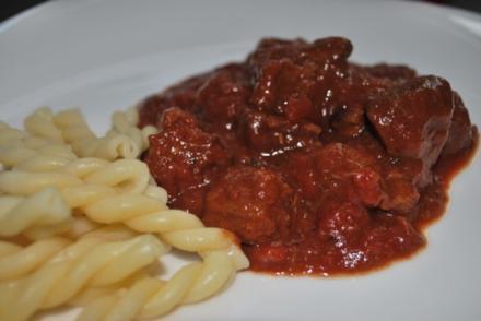 Rinder-Tomaten-Ragout - Rezept