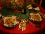 Fischsuppe und gebackener Karpfen mit Kartoffelsalat nach Ivanka - Rezept