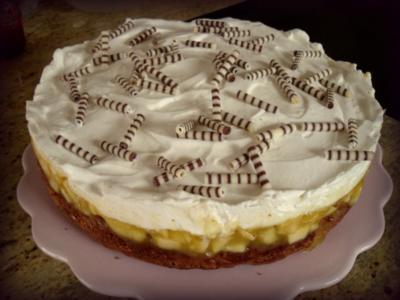 Apfel-Lebkuchen-Torte - Rezept