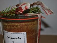 Marzipankuchen im Glas - Rezept