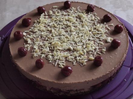 Kuchen ohne backen: Schwarzwälder-Kirsch-Torte - Rezept