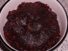 Dip/Gewürzpaste: Aromatische Cranberry-Mohn-Paste - Rezept