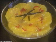 Orangensalat mit Chili und Vanille - Rezept