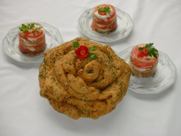 Tomaten-Mozzarella- Terrine mit Prosciutto Crostini - Rezept - Bild Nr. 17