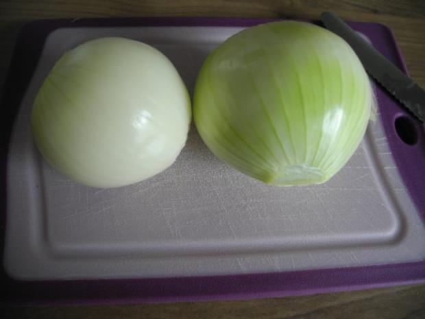 Vegan : Warmen Kartoffelsalat mit Seitan - Zwiebel - Gyros und Apfel - Karotten - Salat - Rezept - Bild Nr. 3