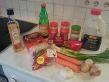 Pekingsuppe (Scharf-Sauer-Suppe) - Rezept