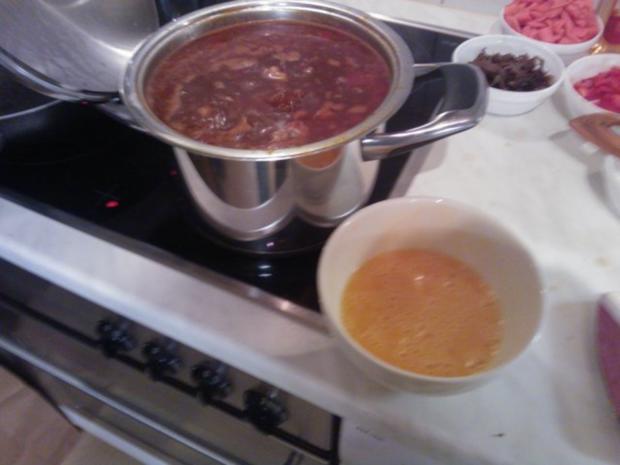Pekingsuppe (Scharf-Sauer-Suppe) - Rezept - Bild Nr. 9