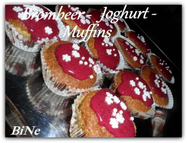 BiNe` S BROMBEER - JOGHURT -  MUFFINS - Rezept - Bild Nr. 8