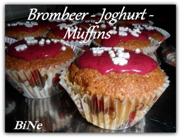 BiNe` S BROMBEER - JOGHURT -  MUFFINS - Rezept - Bild Nr. 2
