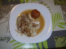 Gedämpftes Hähnchen - Rezept