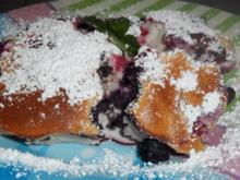 Süßspeisen/Dessert: Fruchtiger Beeren-Quark-Auflauf - Rezept