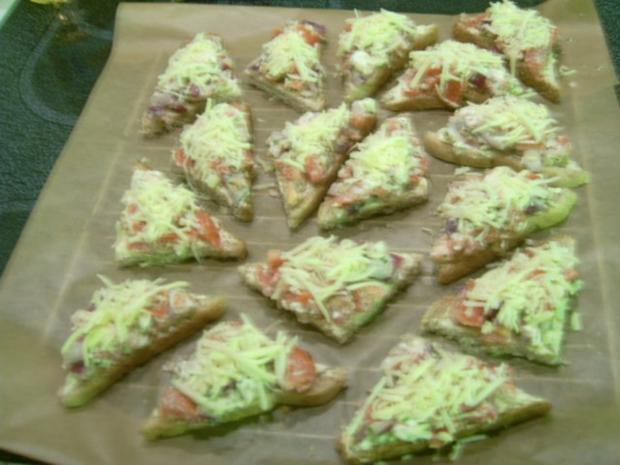 Tomatensalat mit Feta, auf Toast gebacken ala Kukuluru - Rezept - Bild Nr. 10