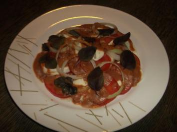Tomaten Mozzarella Salat - Rezept