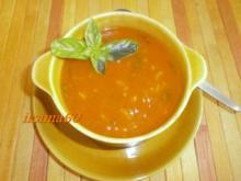 Fruchtige Tomatensuppe - Rezept