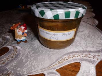 Rhabarber-Feigen-Marmelade>> - Rezept