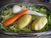 Vegan : Wirsing - Gemüse - Eintopf - Rezept