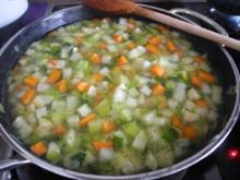 Vegan : Heiße Suppe für kalte Tage - Vitaminbombe - Rezept