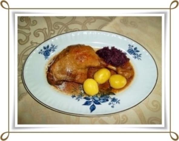 ☆…alle Jahre wieder…☆…  Gänsekeulen, Rotkohl und Kartoffeln - Rezept - Bild Nr. 3